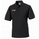 Russell Hardwearing Pique Polo Shirt in Black (Installer)