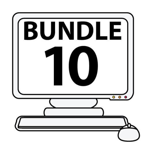 Online Notification Bundle Pack Of 10