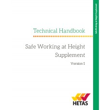HETAS Technical Handbook | Safe Working at Heights Supplement